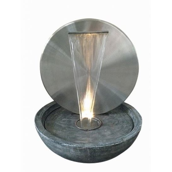 Kerala Stainless Steel Water Feature