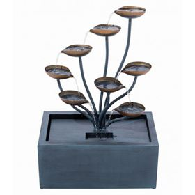 Roma Zinc Metal Water Feature