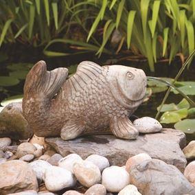Koi Plumbed Pond Spitter