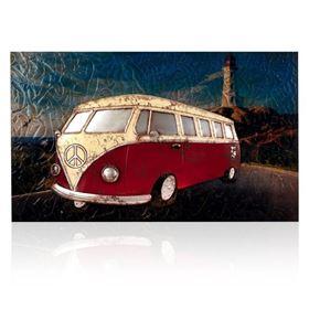 VW Camper Van Wall Art