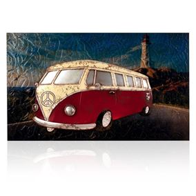 VW Camper Van Wall Art