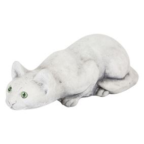 Prowling Cat Stone Ornament