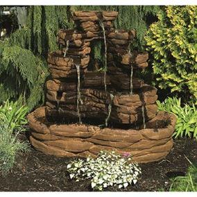 Sante Fe Stone Fountain