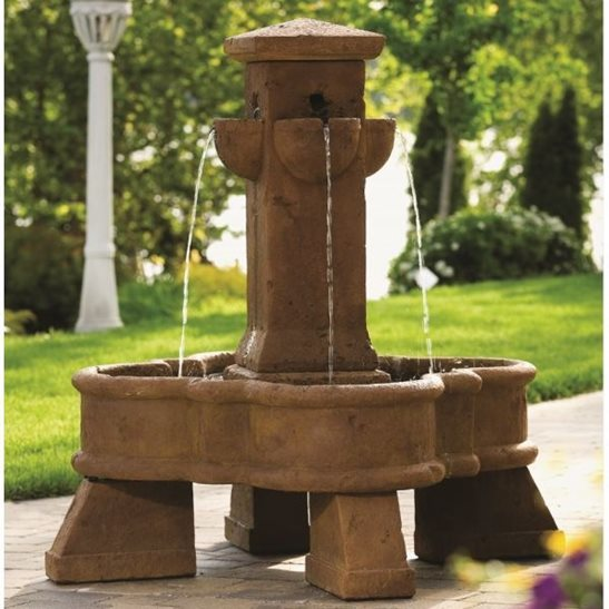 Sienna Place Fountain Cast Stone Water Feature
