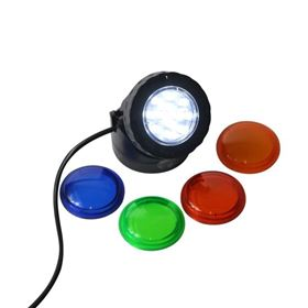 Add On Low Voltage Spotlight with Coloured Lenses (5m Cable)