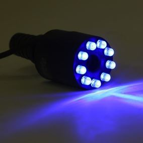 Blue LED Fountain Light with Replaceable LED's