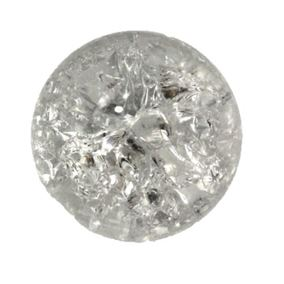 8cm Large Replacement Glass Crystal Ball for Water Features