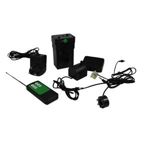 250 LPH Rechargeable Water Feature Pump Kit with LED's and Remote Control