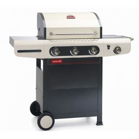Barbecook Siesta 310 Creme Gas Barbecue with Hood
