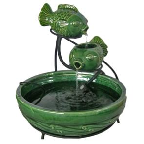 Smart Solar Solar Powered Fish Cascade Water Feature
