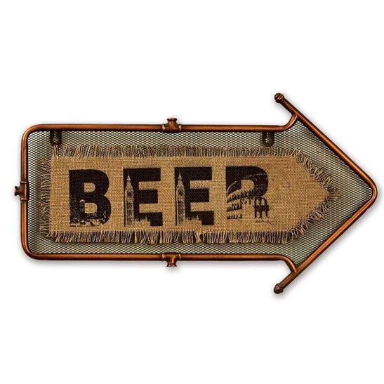 Beer Arrow Wall Art
