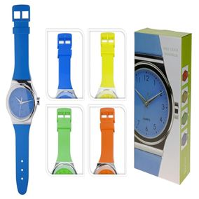 Funky Bright Watch Wall Clock