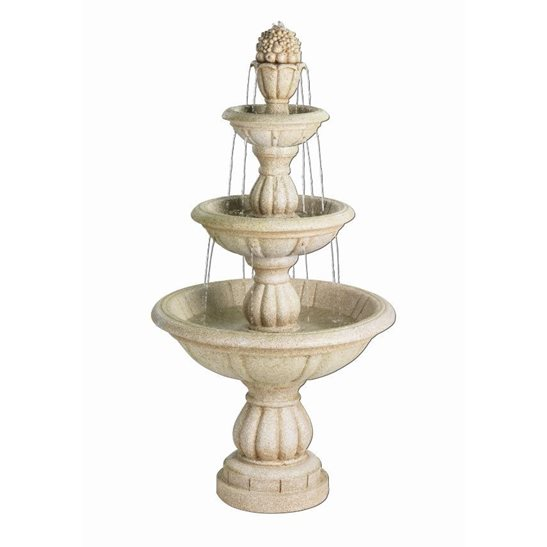 Classic 3 Tier Fountain Garden Water Feature