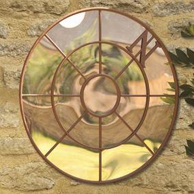 Compass Garden Mirror