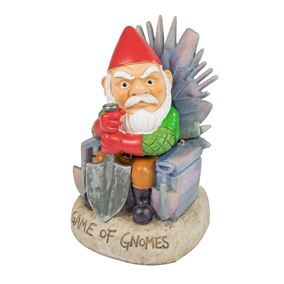 Game of Gnomes Solar Powered Garden Ornament