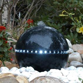 Dubai LED Lit Water Feature