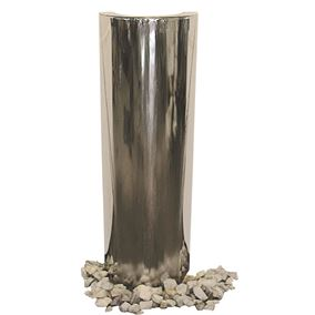 The Hudson Moonscape Stainless Steel Water Feature