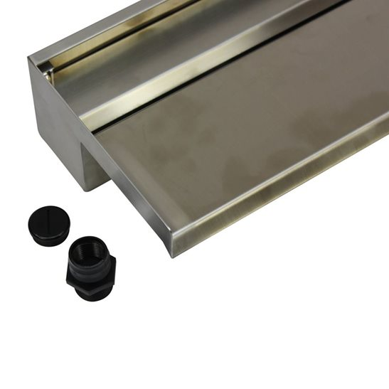 additional image for 90cm Dual Entry Stainless Steel Water Blade
