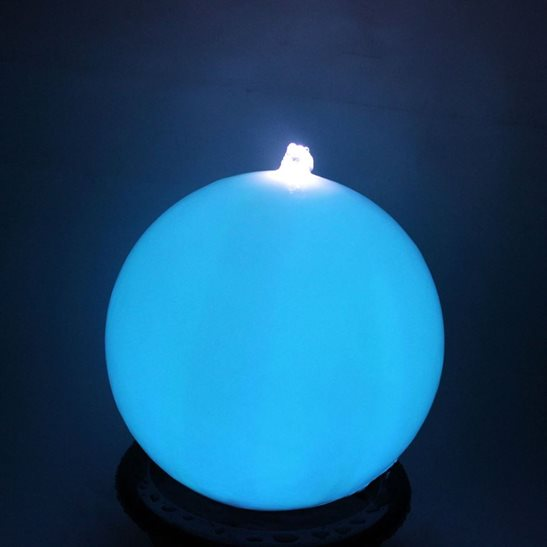 additional image for 40cm Sphere with Colour Changing LED's Water Feature