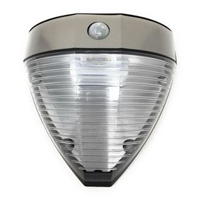 Solar Powered Deluxe Ultra Bright LED PIR Sensor Wall Light 240 Lumens Built In Dark Sensor