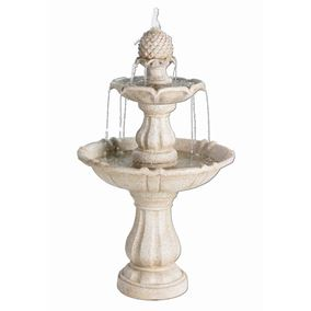 Large Classic 2 Tier Fountain Garden Water Feature