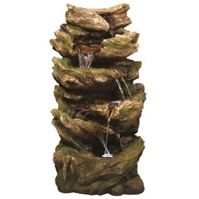 Multifall Woodland Lit Water Feature