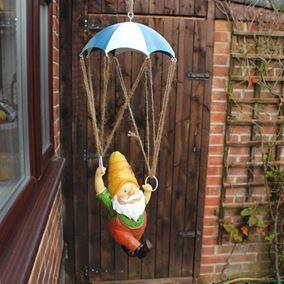 Garden Gnome with Parachute