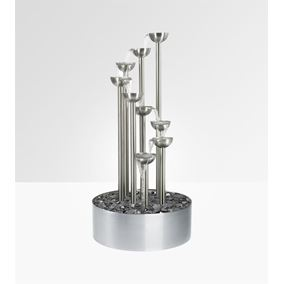 The Derwent Pouring Bowls Stainless Steel Water Feature