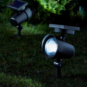 Ultra Bright Premium Garden Spot Lights Pack of Two