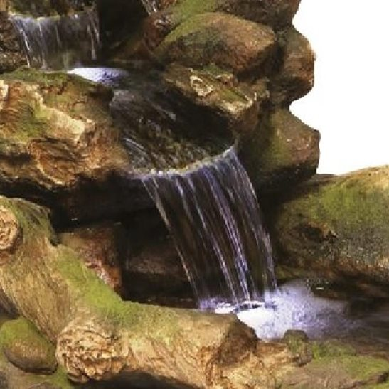 additional image for Woodland River Lit Water Feature