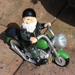Woodland Wilf Born to be Wild Garden Gnome