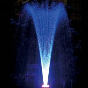 Floating Fountain with Colour Changing LED Lights