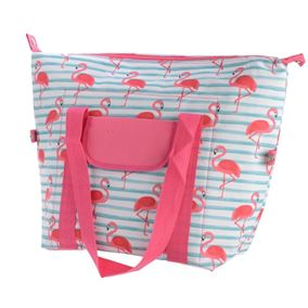 Flamingo Cooler Bag With Handles