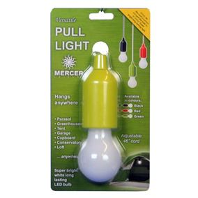 Super Bright LED Pull Light (Green Casing)