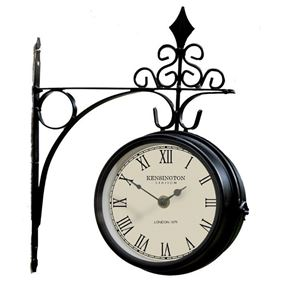 Kensington Outdoor Garden Station Clock