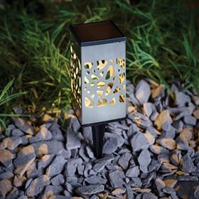 Multi-Function LED Filigree Solar Light