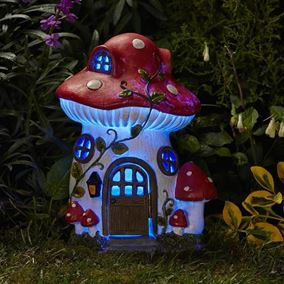Mushroom Solar Powered House Garden Dwelling Elevedon Collection