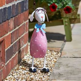 Dotty The Sheep Cute Garden Decor Ornament