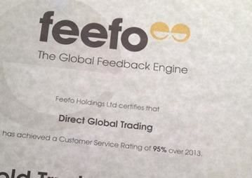 UK Water Features Receives Feefo Honours In 2013