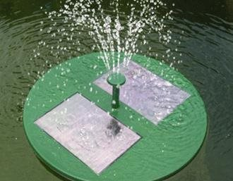 Save Money add a Solar Powered Water Feature into your Garden