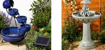 The Use Of A Solar Powered Water Feature To Attract New Wildlife To Your Garden
