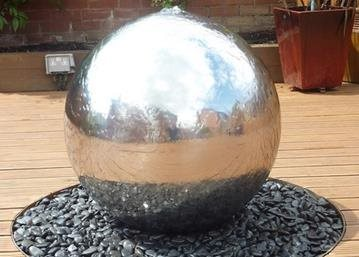 An Exclusive Range Of Stainless Steel Water Features