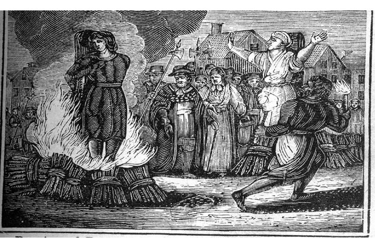 Witch History in England