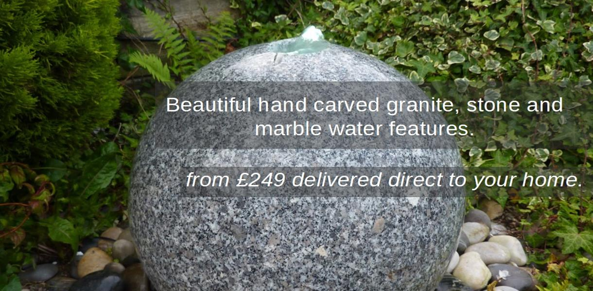 Granite, Marble and Slate Water Features