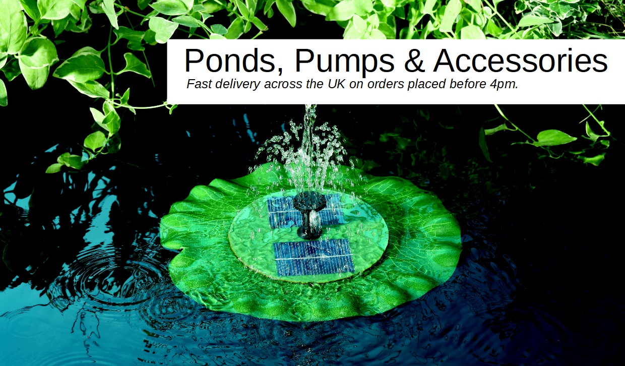 Ponds Pumps and Accessories