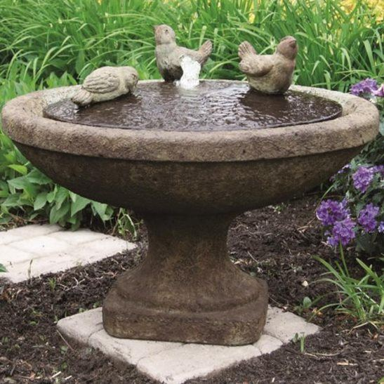 Set Up Instructions for  Massarelli Singing Birds Oval Fountain