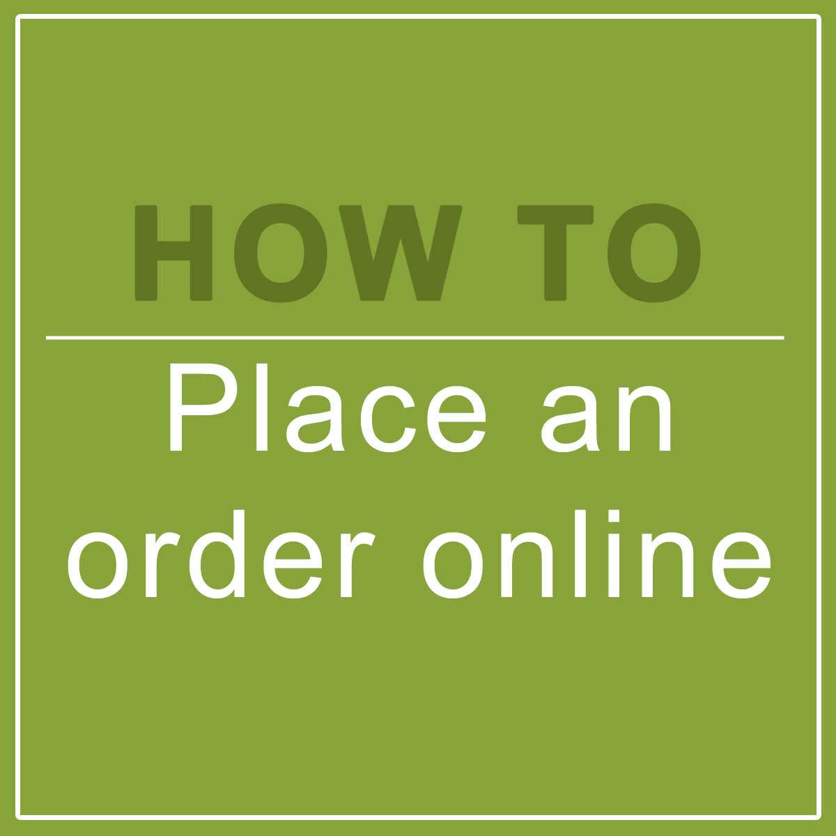 How To Place Order On Garden and Home Shop