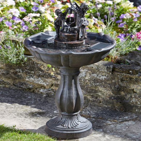 Simple Water Features For The Garden: UK Water Features Make It Easy With Self Contained Water