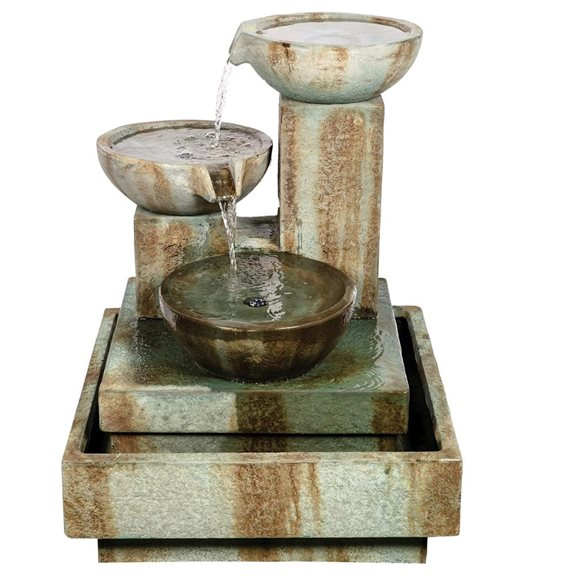 additional image for Trio Cascade Fountain Medium Water Feature