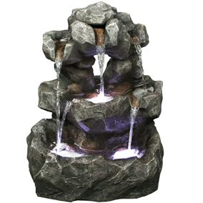 Louisiana Rock Falls Water Feature